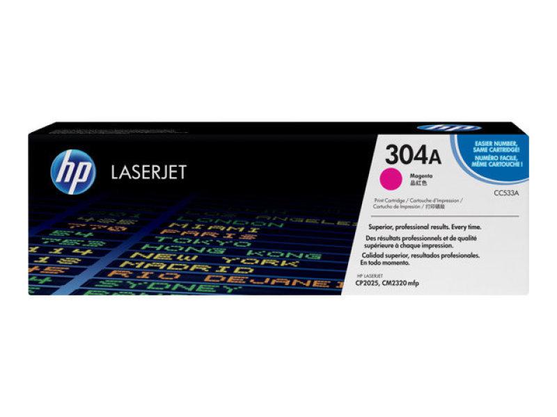 HP 304A Magenta Toner Cartridge - CC533A