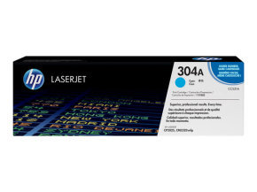 HP 304A Cyan Toner Cartridge - CC531A