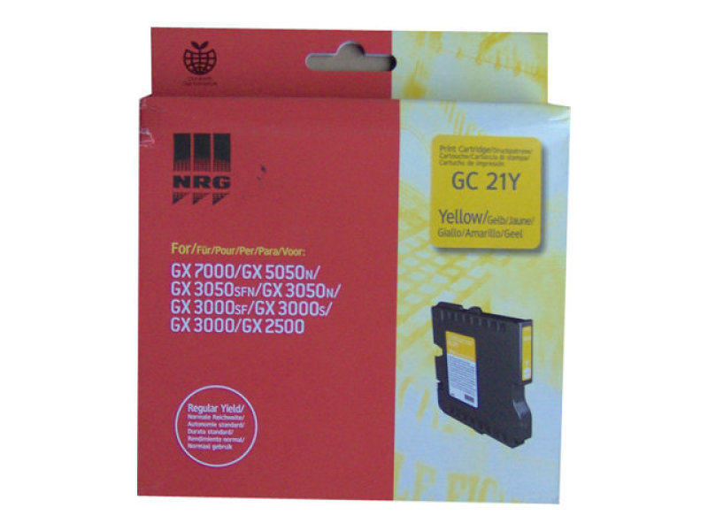 Ricoh GC 21Y - Print cartridge - 1 x yellow
