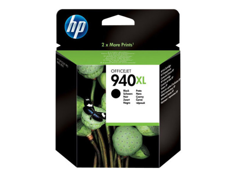 HP 940XL Black Ink Cartridge - C4906AE