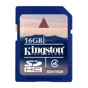 Kingston 16GB Secure Digital High Capacity Card