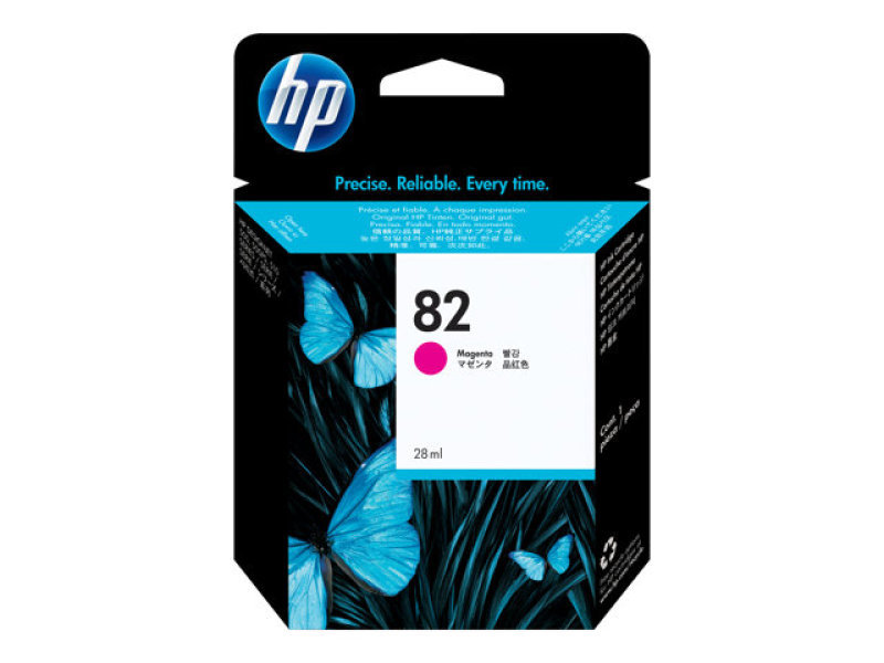 HP 82 28ml Magenta Ink Cartridge - CH567A