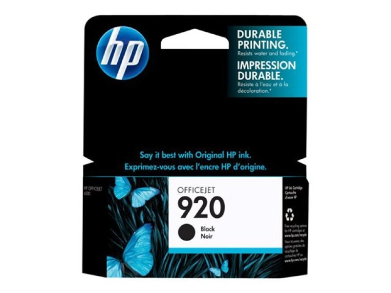 HP 920 Black Ink Cartridge - CD971AE