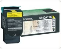 Lexmark Yellow Return Program Toner Cartridge