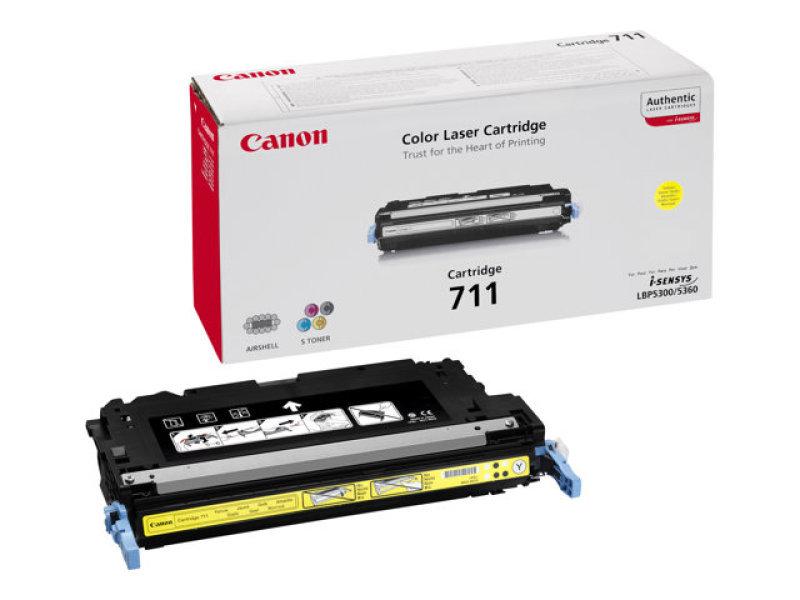 *Canon 711 Yellow Toner cartridge