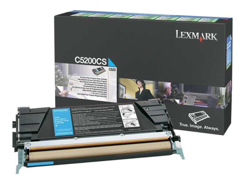 Lexmark C5200CS Light Cyan Toner Cartridge