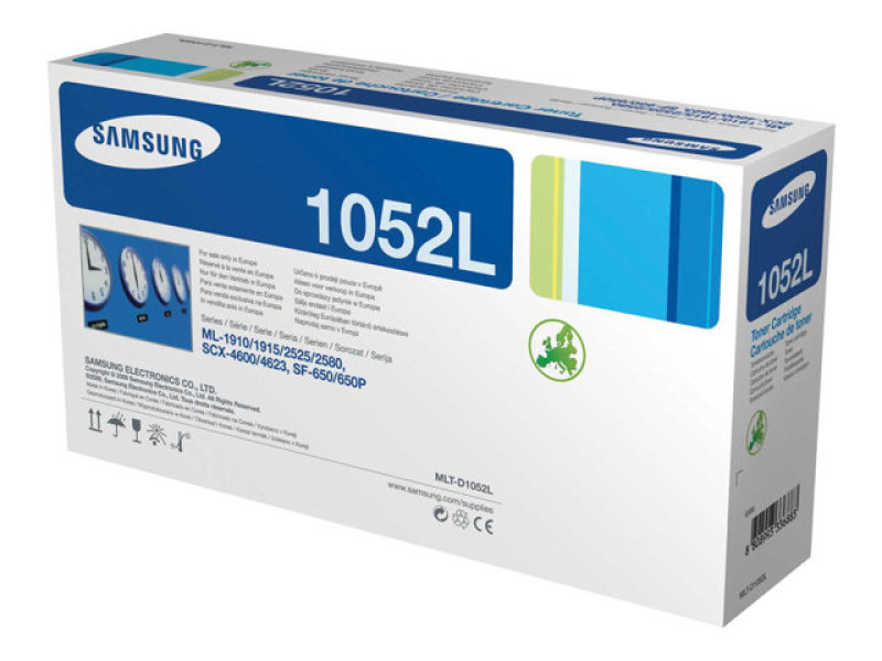 Samsung MLT-D1052L Black Toner cartridge - 2,500 Pages
