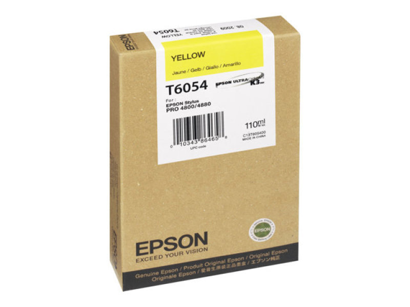 Epson T6054 - Print cartridge - 1 x yellow