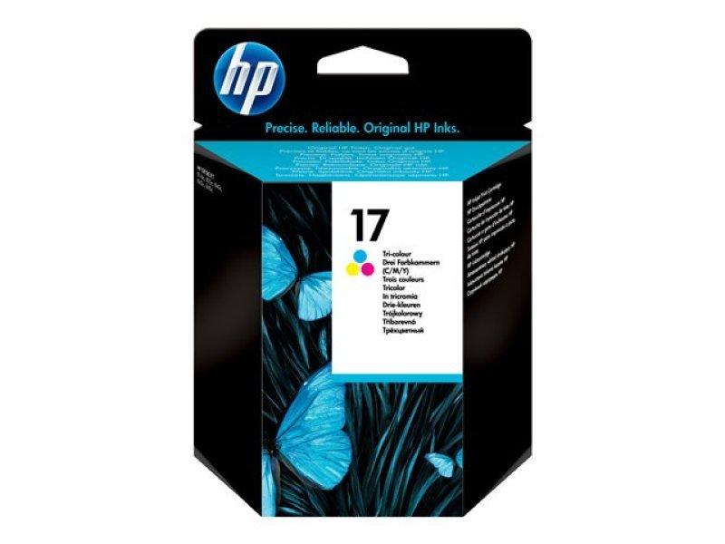 HP 17 Tri-Colour Ink Cartridge - C6625A