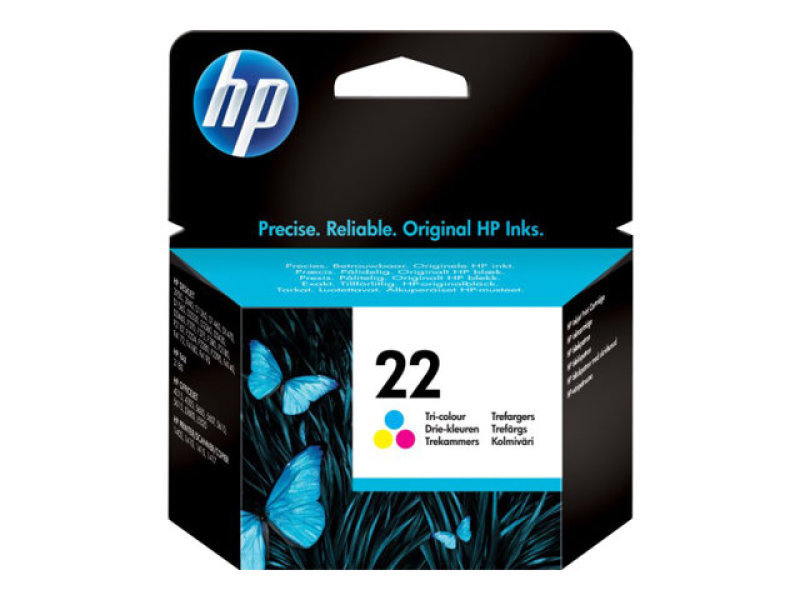 *HP 22 Colour Ink Cartridge - C9352AE