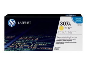 HP 307A Yellow Toner Cartridge 7300 Pages - CE742A