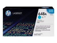 HP 648A Cyan Toner Cartridge - CE261A