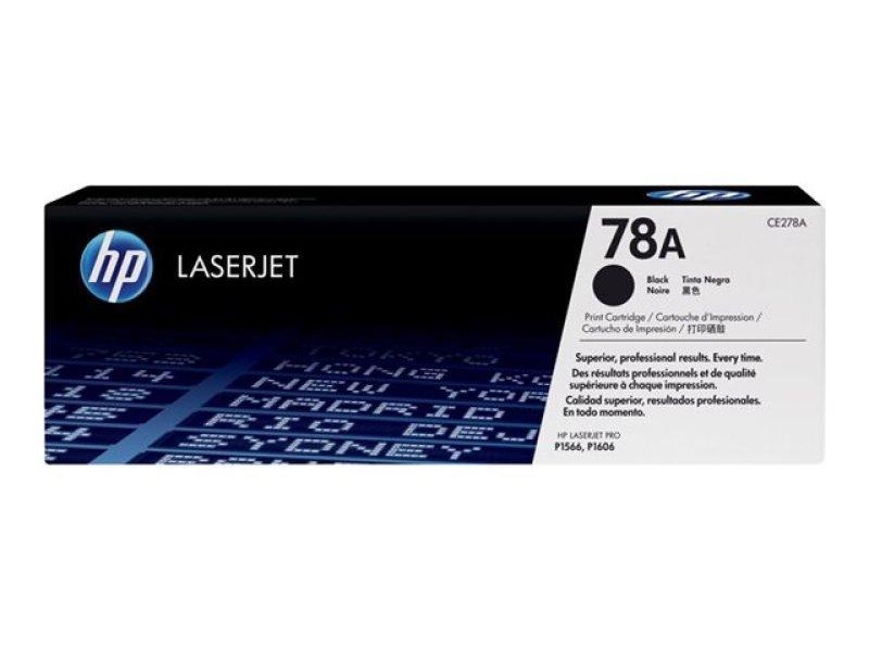 HP 78A Black Toner cartridge - CE278A