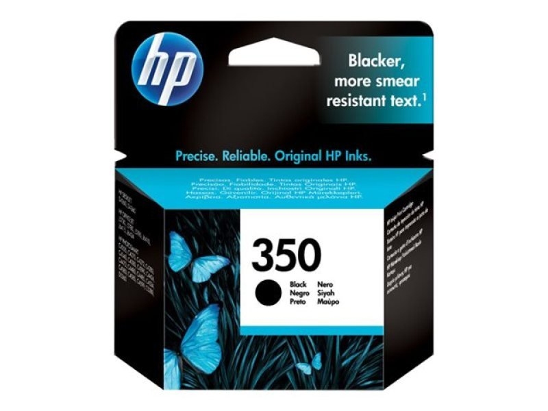 *HP 350XL Black Ink Cartridge - CB336EE