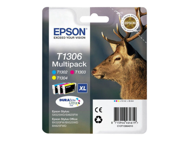 Epson T1306 Multipack Ink Cartridge