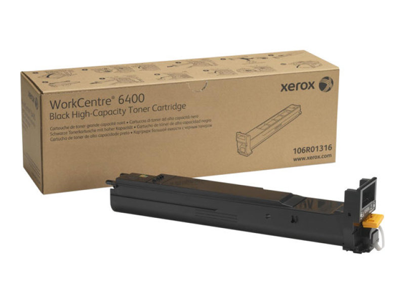 106R01316 Black High Capacity Toner Cartridge (12500 Pages)