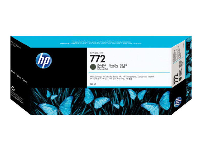 HP 772 300-ml Matte Black Ink Cartridge - CN635A