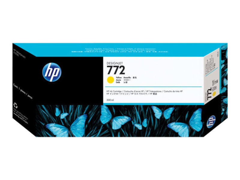 *HP 772 Yellow Ink Cartridge - CN630A