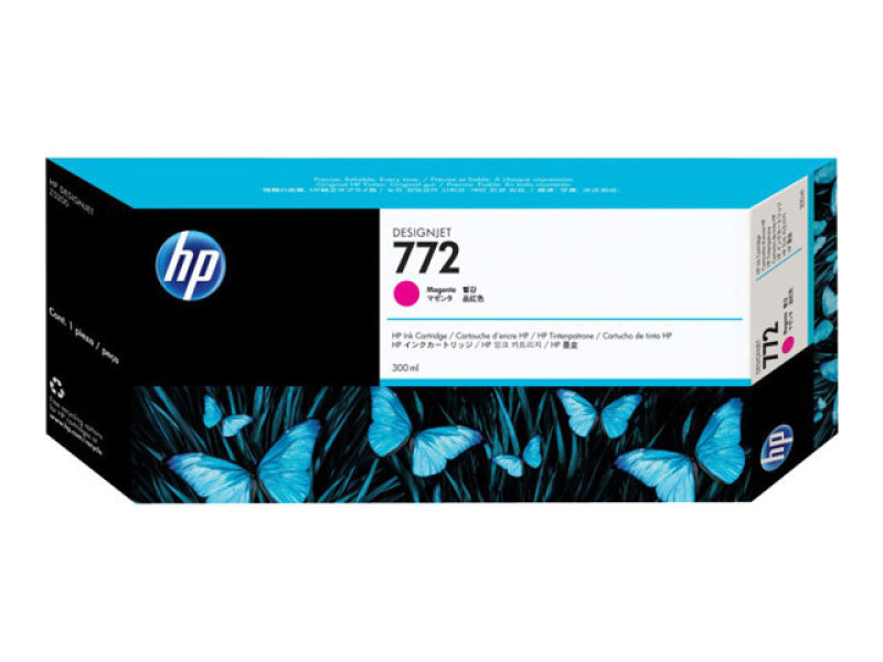 HP 772 Magenta Ink Cartridge - CN629A