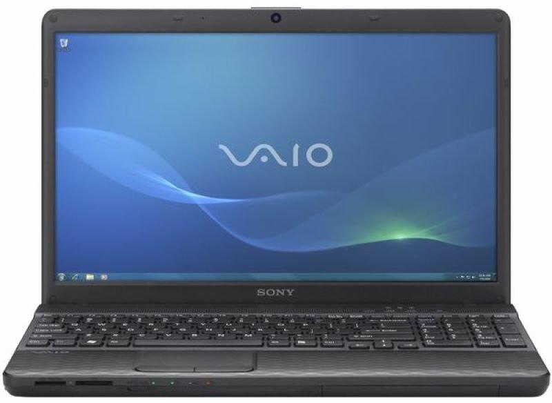 "Sony Vaio Eh2a4e/b Laptop, Intel Pentium B950 2.10ghz, 4gb Ram, 320gb Hdd, 15.5"" Hd Led, Dvdrw, Intel Hd, Bluetooth, Webcam, Windows 7 Home Premium 64-bit,"