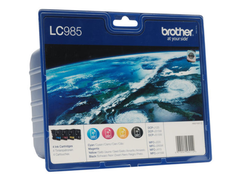 *Brother LC985VALBP Colour Ink cartridge