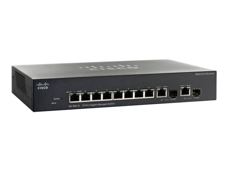 Cisco Small Business 300 Series 10-port Gigabit Managed Switch