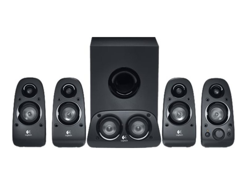 Logitech Z506 5.1 Surround Sound Speakers - 75W RMS