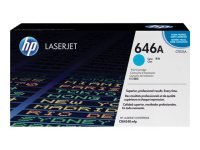 HP 646A Cyan Toner Cartridge - CF031A