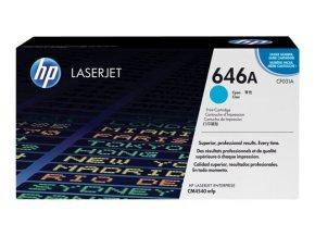 HP 646A Cyan Toner Cartridge - CF031A