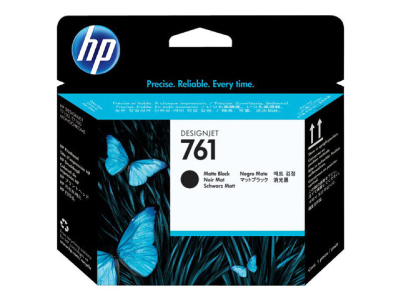 HP No 761 Matte Black Ink Cartridge - CH648A