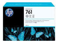 HP 761 Gray OriginalInk Cartridge - Standard Yield 400ml - CM995A