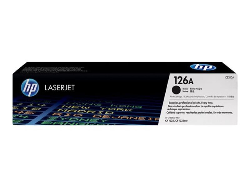 HP 126A Black Toner Cartridge - CE310A