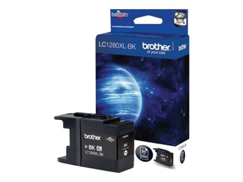 Brother LC1280XLBK Super High Yield Black Ink Cartridge