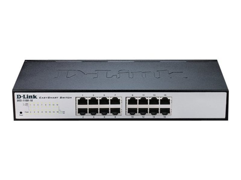 D-Link DES-1100-16 - port Smart Switch