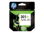 HP 301XL Tri-Colour Original Ink Cartridge - High Yield 330 Pages - CH564EE