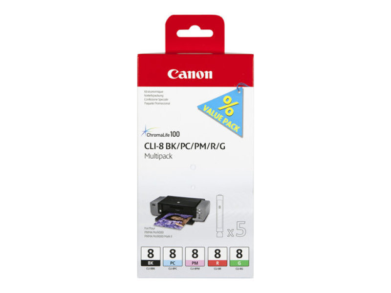 Canon CLI- 8 Multipack Ink Cartridge