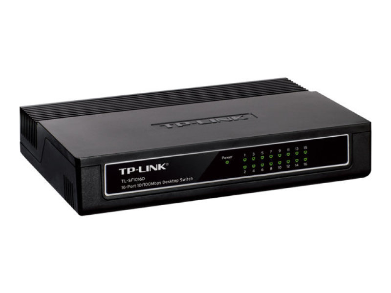 TP-Link TL-SF1016D Switch 16 x 10/100 Desktop