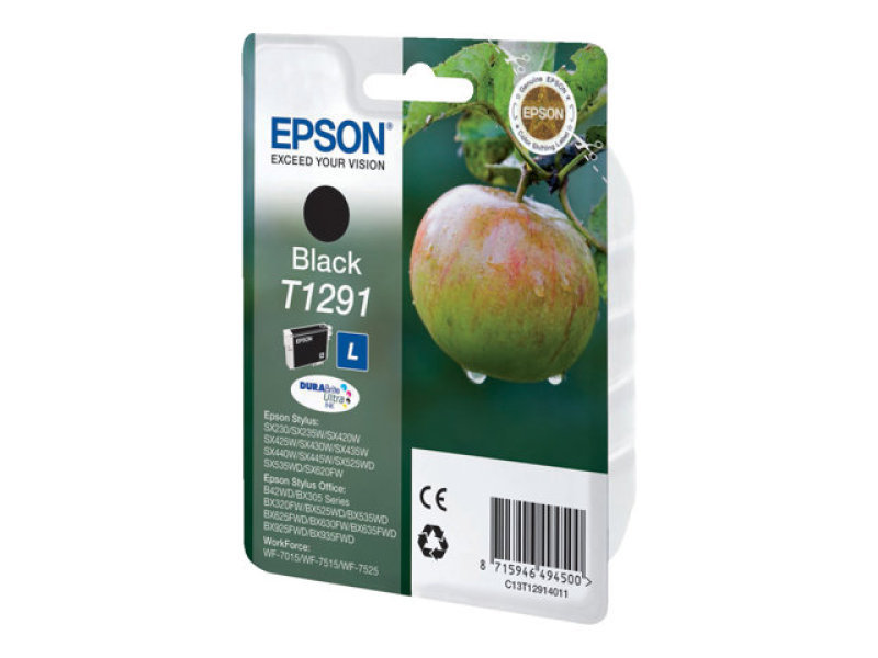 Epson T1291 Black Ink Cartridge