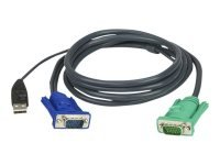 ATEN 5M USB KVM Cable with 3 in 1 SPHD (Keyboard/Mouse/Video)