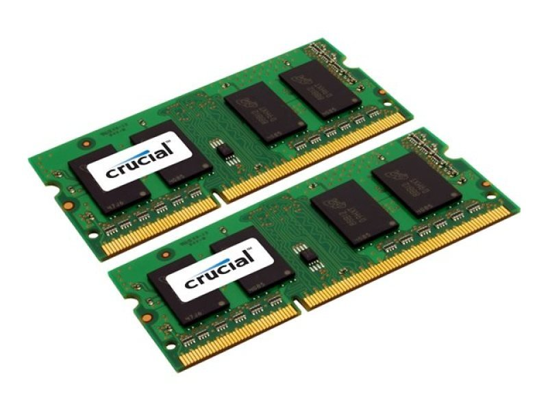 Crucial CT2KIT51264BF160B  8GB (2 x 4GB) DDR3 1600MHz Laptop Memory Kit CL11 1.35V