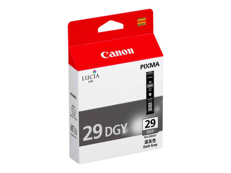 Canon Dark Grey PGI-29DGY Ink Cartridge