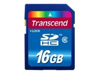 Transcend 16GB Secure Digital High-capacity Card v.6.0