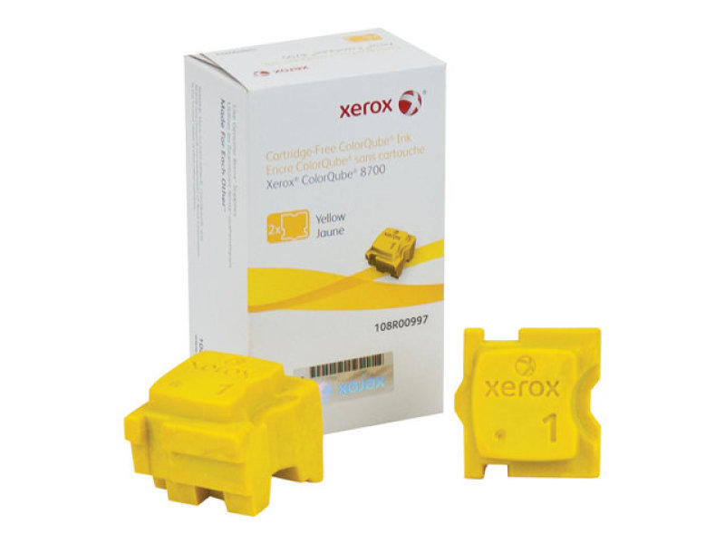 Xerox Yellow 2 Solid Ink Sticks