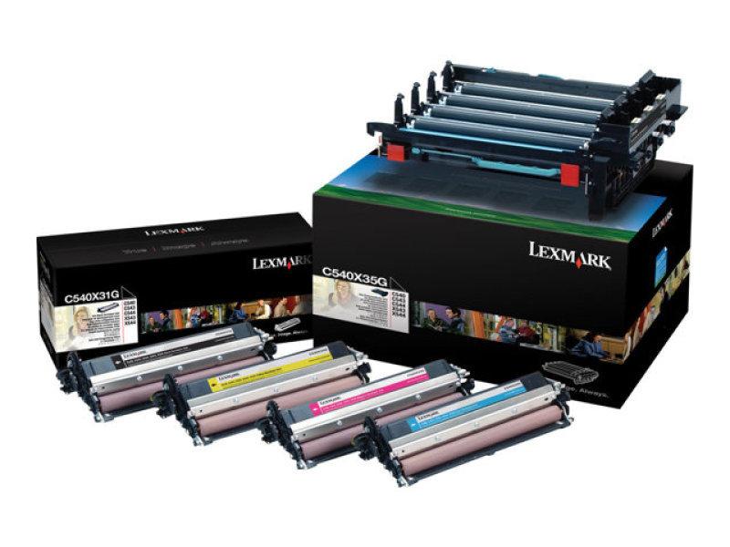 Lexmark - Drum kit colour (cyan, magenta, yellow, black)