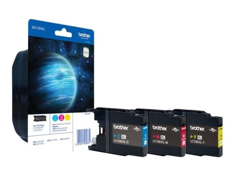 Brother LC-1280XL Rainbow Ink Cartridge