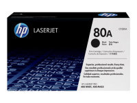 HP 80A Black Toner Cartridge - CF280A
