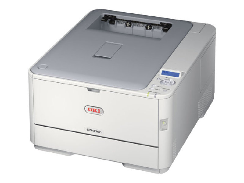 OKI C301dn A4 Duplex Network Colour Laser Printer - 3 Year Warranty