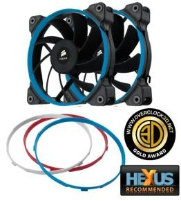 Corsair AF120 120mm High Airflow 3pin Fan for Case Cooling Dual Pack