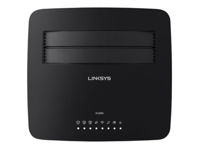 Linksys X1000 - Wireless N300 ADSL2+ Modem Router