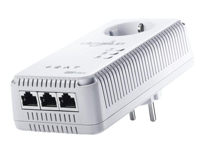 devolo dlan 500 av wireless single powerline network adapter ebuyer. Black Bedroom Furniture Sets. Home Design Ideas